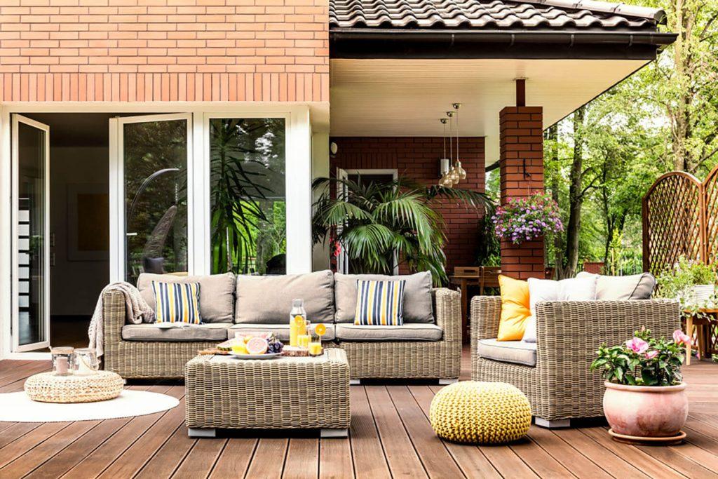 decoración jardin pequeño casa