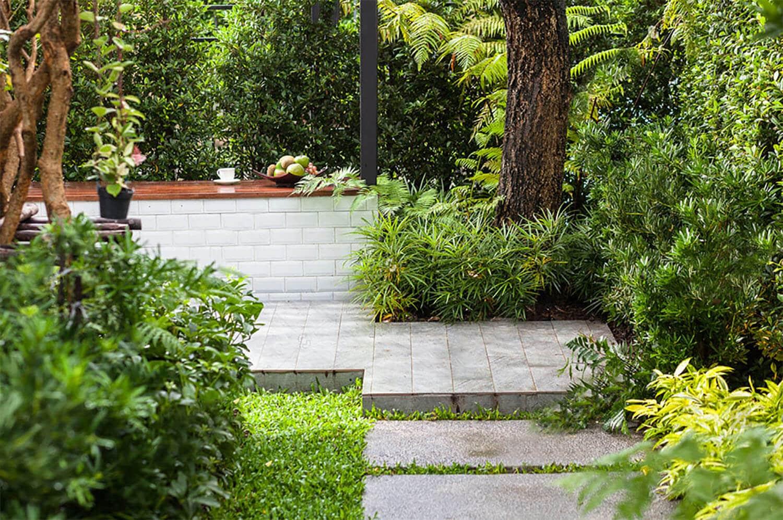 <b><center>Consigue sofisticados jardines modernos pequeños</b></center> 1