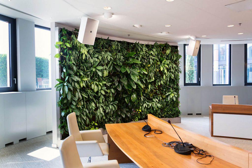 Jardines verticales interior